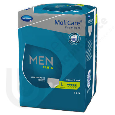 Molicare Men Pants 5 Druppels - LARGE
