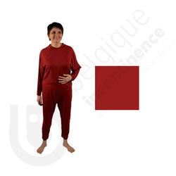Molene Onesie Bordeauxrood - 54/56
