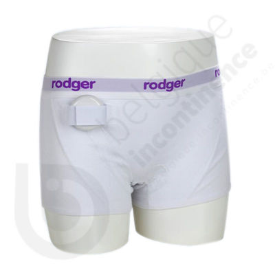 Shorty Femme Blanc Rodger - Taille XL