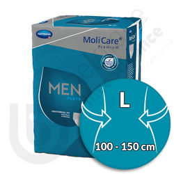 Molicare Men Pants 7 Gouttes - LARGE