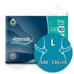 Attends Slip Regular 10 - LARGE