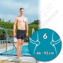 Suprima Maillot de bain Incontinence Homme - Taille 6