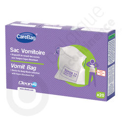 CareBag Sac Vomitoire Jetable