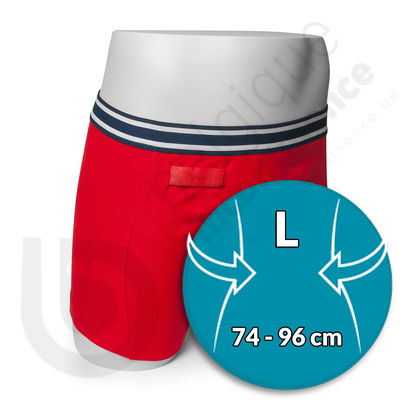 Boxer Homme Rouge Rodger - Taille L