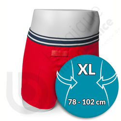 Boxer Homme Rouge Rodger - Taille XL