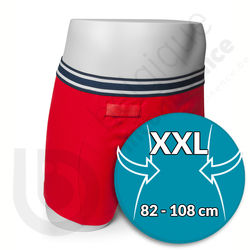 Boxer Homme Rouge Rodger - Taille XXL