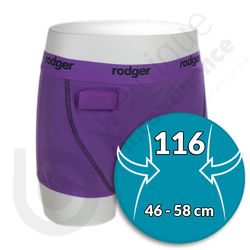 Shorty Fille Mauve Rodger - Taille 116
