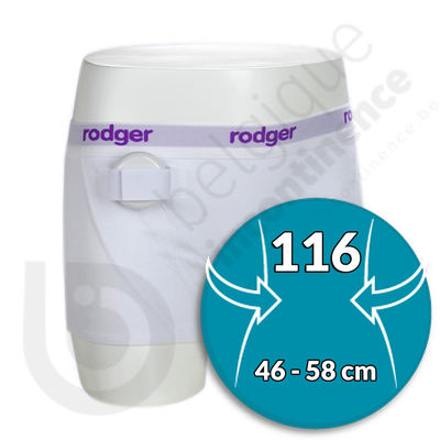 Shorty Fille Blanc Rodger - Taille 116