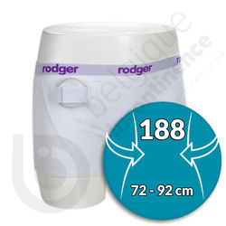 Shorty Fille Blanc Rodger - Taille 188