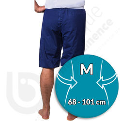 Pyjama Short PJAMA pour Incontinence Adulte - MEDIUM