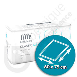 Lille - Classic Bed Extra 60 x 75 cm