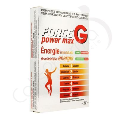 Force G Power Max Promo Pack - 6 x 10 ampoules