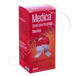 Medica Spray Gorge Menthol - 30 ml