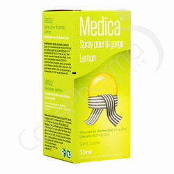 Medica Spray Gorge Citron - 30 ml
