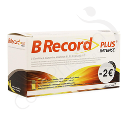 B Record Plus Intense - 10 x 10 ml