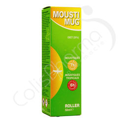 Moustimug Lait anti-moustique Roller 20% DEET - 50 ml