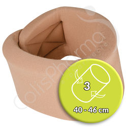 Thuasne Collier Cervical Ortel C1 Anatomic - Taille 3 Beige