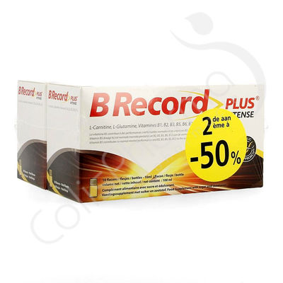 B Record Plus Intense - 20 x 10 ml