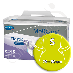 Molicare Elastic 8 Gouttes Small