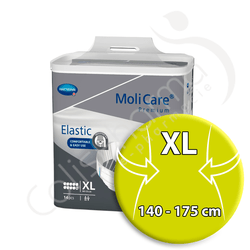Molicare Elastic 10 Gouttes Extra Large