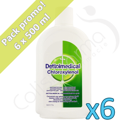 Dettolmedical - 6 x 500 ml - PROMO PACK