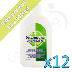 Dettolmedical - 12 x 500 ml - PROMO PACK