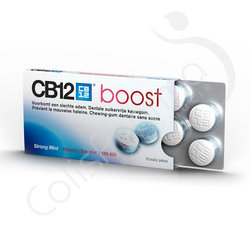 CB12 Boost - 10 Chewing Gum Strong Mint