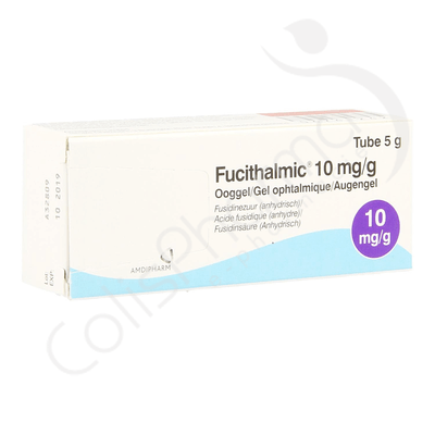 Fucithalmic 10mg/g - Gel ophtalmique 5g