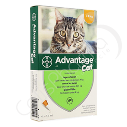 Advantage Cat 40 - 4 pipettes 0,4ml