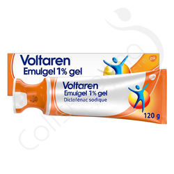 Voltaren Emulgel 1% gel Bouchon Applicateur - 120g