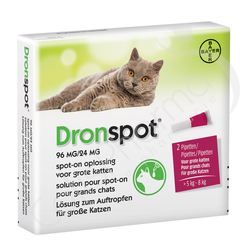 Dronspot 96mg/24mg - 2 pipettes