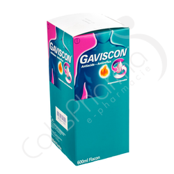 Gaviscon Antiacide - Antireflux - 600 ml