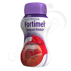 Fortimel Compact Protein Fruits Rouges - 4x125ml