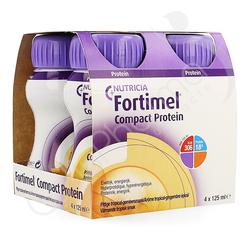 Fortimel Compact Protein Tropical-Gingembre - 4x125ml