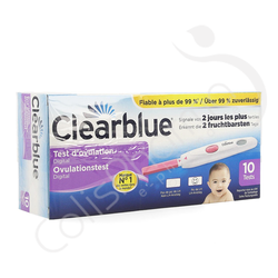 Clearblue - Test d'ovulation digital - 10 pièces