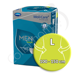 Molicare Men Pants 5 Gouttes - Large