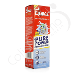 Elimax Pure Power - Lotion Anti-Poux non-grasse 100 ml