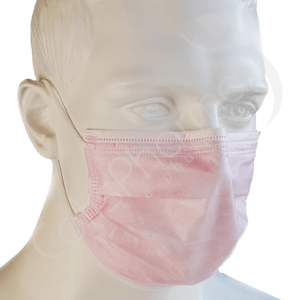 Masques chirurgicaux - Rose - Type IIR
