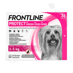 Frontline Protect Solution Pour Spot-On Chiens XS - 2-5 kg
