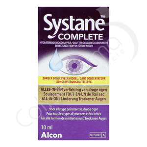 Systane Complete - Gouttes oculaires hydratantes - 10 ml