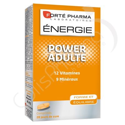 Forté Pharma Energie Power Adulte - 28 comprimés