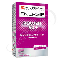 Forté Pharma Energie Power 50+ - 28 comprimés