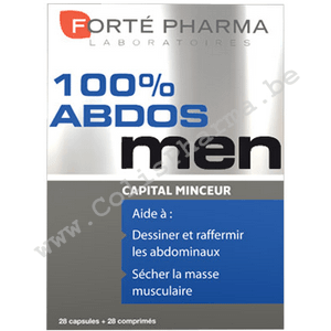 Forté Pharma - 100% Abdos Men