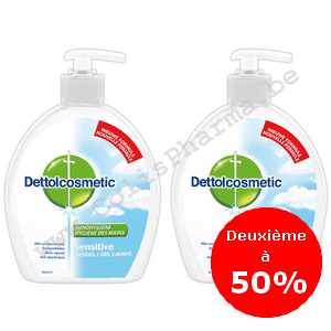 Dettolcosmetic Sensitive 500ml Duo