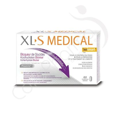 XLS Medical Bloqueur de Glucides - 60 Comprimés