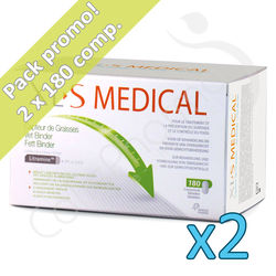 XLS Medical Capteur de Graisses - 2 boites Promo Pack
