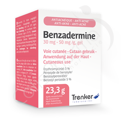 Benzadermine 30 mg/50 mg - Gel Anti-Acné 23,3g