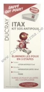 Ducray - Itax Pack Anti-poux