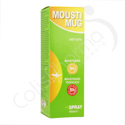 Moustimug Spray 9,5% DEET - 100 ml