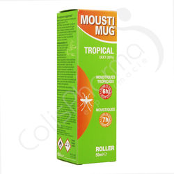 Moustimug Tropical Roller 30% DEET - 50 ml
